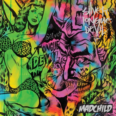 Madchild - Silver Tongue Devil Album Cover