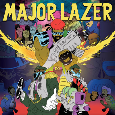 Major Lazer - Free The Universe Cover