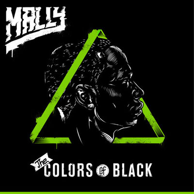MaLLy - The Colors of Black Album Cover