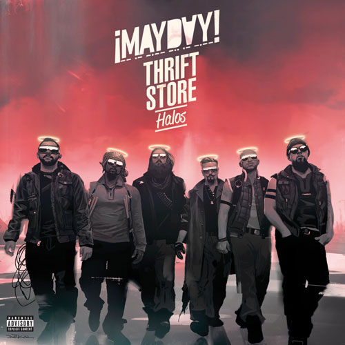 ¡MAYDAY! - Thrift Store Halos EP Cover