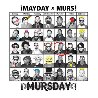 ¡MAYDAY! & MURS - ¡MursDay! Cover