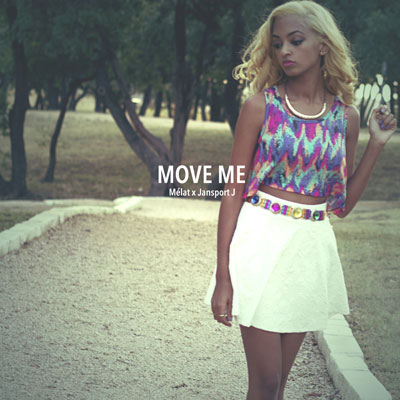 Mélat - Move Me EP Album Cover