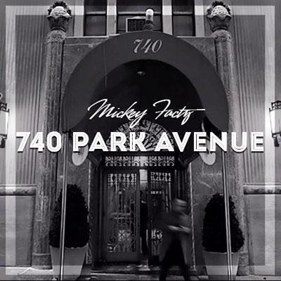 Mickey Factz - 740 Park Avenue Cover