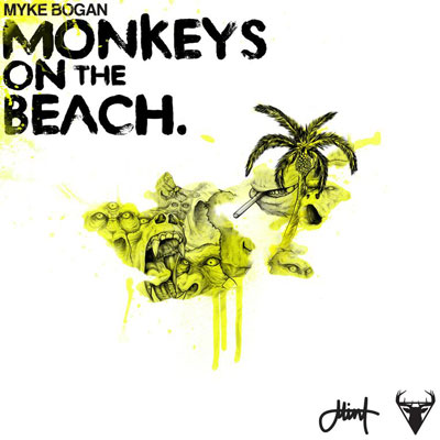 myke-bogan-monkeys-on-the-beach