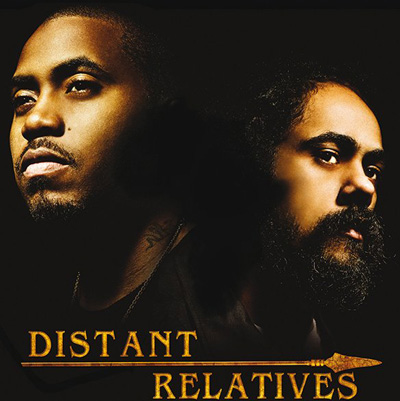 Nas & Damian Marley - Distant Relatives Album Cover