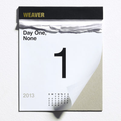 Nick Weaver - Day One, None Album Cover