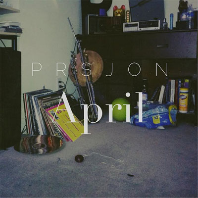 Paris Jones - April EP Cover