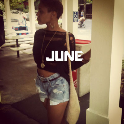 Paris Jones - June EP Cover