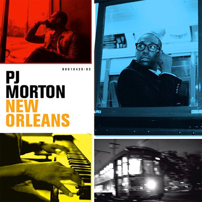 PJ Morton - New Orleans Album Cover