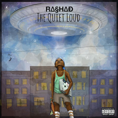 Rashad - The Quiet Loud Album Cover