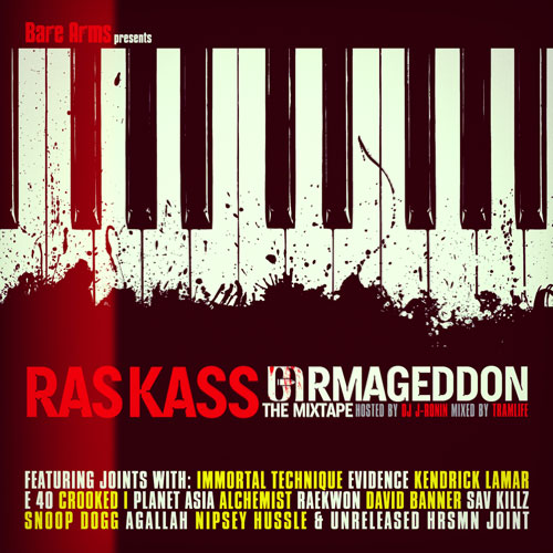 Ras Kass - Bare Arms Presents: The Barmageddon Mixtape Cover