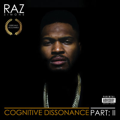Raz Simone - Cognitive Dissonance: Part 2 Cover