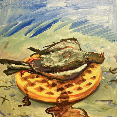 Rich Jones - Pigeons & Waffles Album Cover