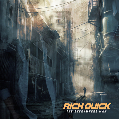 Rich Quick - The Everywhere Man Album Cover