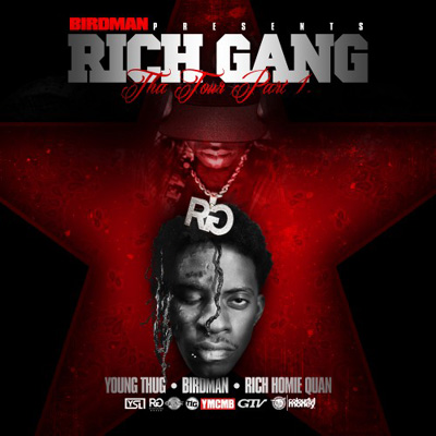 Birdman Presents Rich Gang - The Tour, Part 1 Album Cover