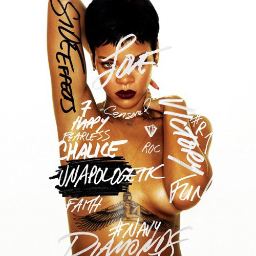 Rihanna - Unapologetic Cover