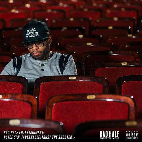 "Royce Da 5'9"" - Trust The Shooter EP Album Cover"