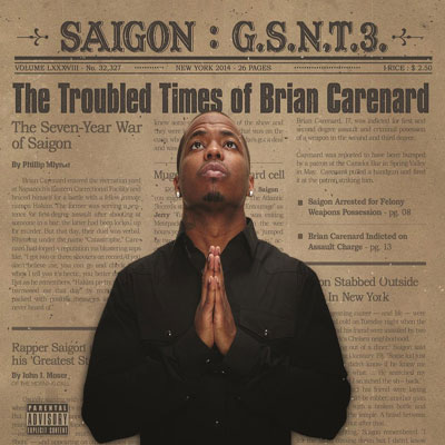 Saigon - GSNT3: The Troubled Times of Brian Carenard Album Cover