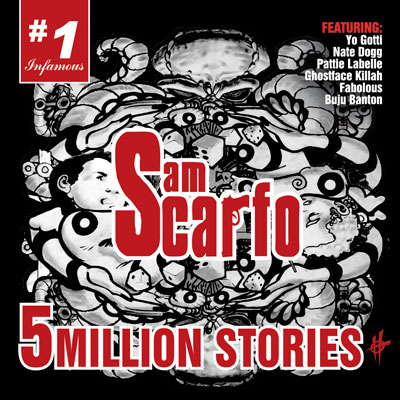 Sam Scarfo - 5 Million Stories Album Cover