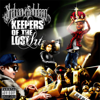 Shabaam Sahdeeq - Keepers of the Lost Art Album Cover