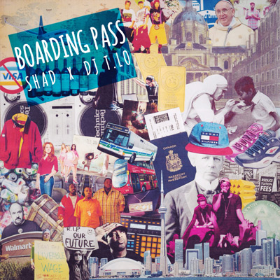 Shad & DJ T.Lo - Boarding Pass EP Album Cover