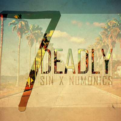 SIN x Numonics - 7 Deadly EP Album Cover