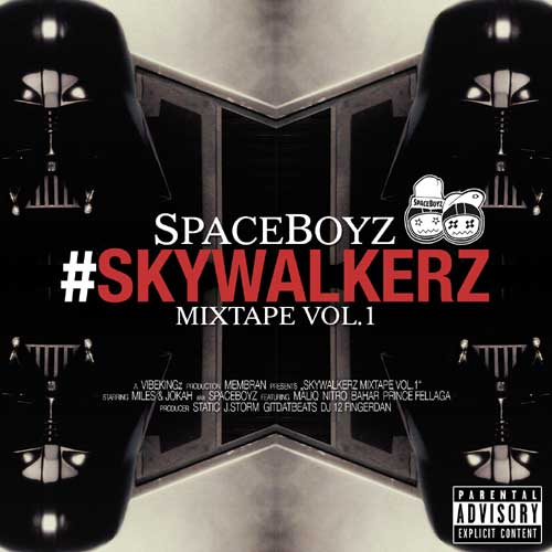 SpaceBoyz - Skywalkerz Cover
