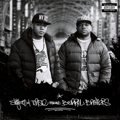 Skyzoo x Torae - Barrel Brothers Album Cover
