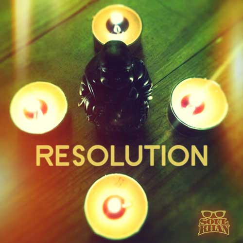 Soul Khan - Resolution EP Cover
