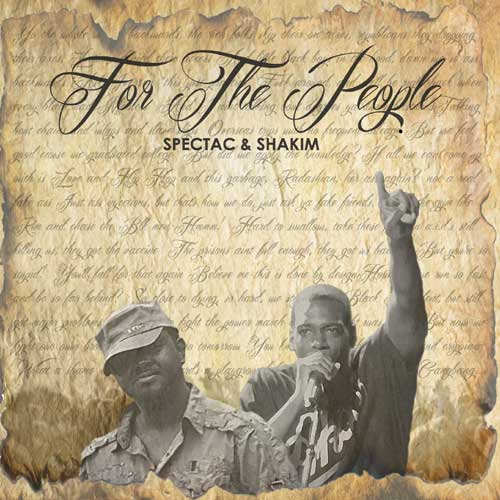 Spectac & Shakim - For the People Album Cover