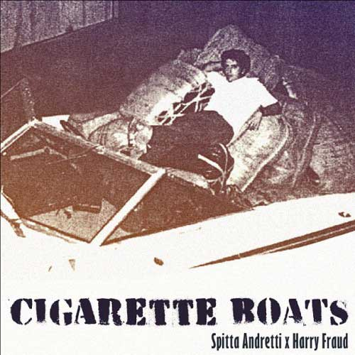 Curren$y &amp; Harry Fraud - Cigarette Boats EP Cover