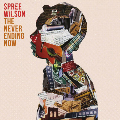 Spree Wilson - The Never Ending Now Cover