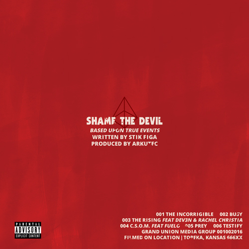 Stik Figa x Arkutec - Shame The Devil EP Album Cover