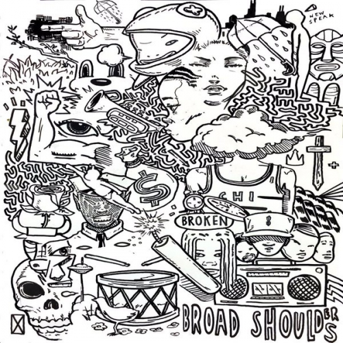 Taylor Bennett - Broad Shoulders Album Cover