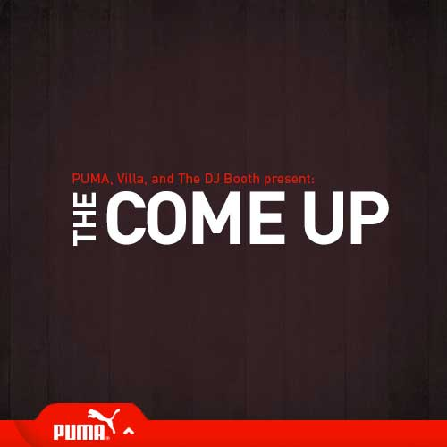 DJBooth.net x PUMA x Villa Present - The Come Up Cover