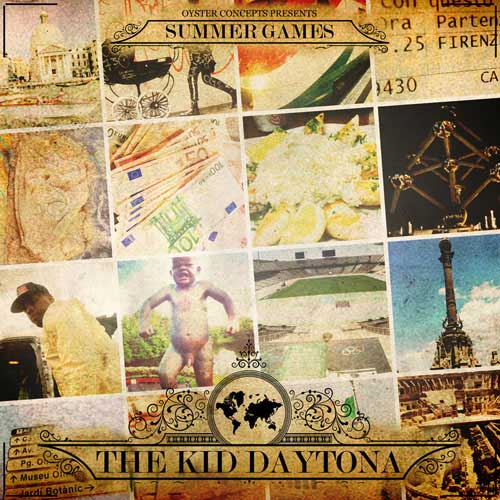 The Kid Daytona - Summer Games: The Kid with the Golden Pen Cover