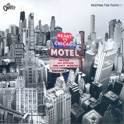 The O'My's - Keeping the Faith EP Album Cover
