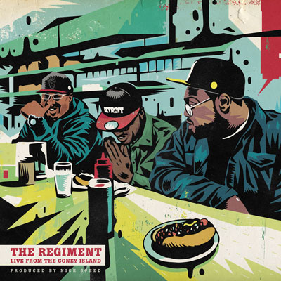 The Regiment - Live From Coney Island Cover