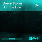 Avery Storm - On the Line EP Cover