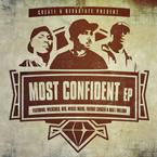 Create & Devastate - Most Confident EP Cover