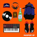 DJ J Hart - Passport EP Cover