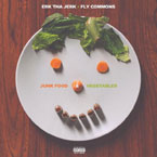 Erk Tha Jerk - Junk Food & Vegetables EP Artwork