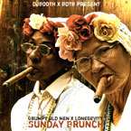Grumpy Old Men x LONEgevity - Sunday Brunch Artwork