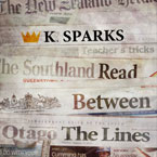 K. Sparks - Read Between the Lines Artwork
