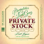 Louie Gonz x DJ Manipulator - Private Stock Cover