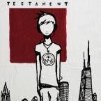 Noah Sims - Testament Cover
