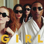 Pharrell - G I R L Artwork