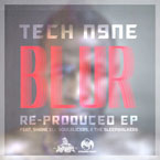 Tech N9ne - Blur (Re-Produced) EP Cover