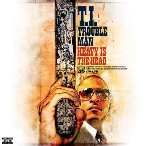 T.I. - Trouble Man: Heavy Is the Head Cover