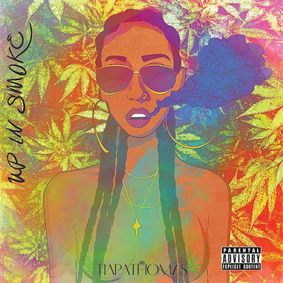 Tiara Thomas - Up In Smoke EP Album Cover